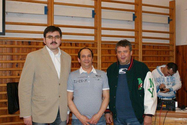Jozef Božik, Jose Batista, Sergej Talár